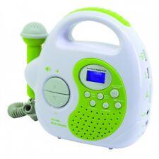 Soundmaster KR36GR in grün Kinder-Abspielgerät tragbar mit Radio/USB/SD/Mikrofon