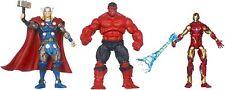 New listing Marvel Universe Heroic Age Heroes Red Hulk,Iron Man & Thor