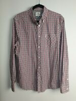 Ben Sherman Original Men's Long Sleeve Check As New Shirt Size L