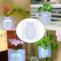 Silikon Magic Designer Home DIY Dekor Blume kleine hängende Wand Vase Heiß