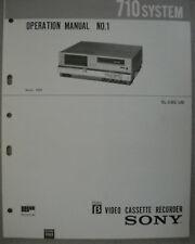 Sony sl-c6e/ub operación manual nº 1 circuito descripción Circuit description