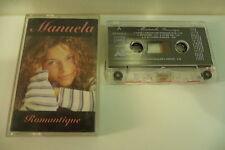 MANUELA LOPEZ K7 AUDIO TAPE CASSETTE ROMANTIQUE AB PROD DOROTHEE HELENE GARCONS