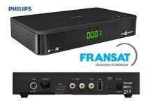 PHILIPS DSR3331F Décodeur TV HD Satellite DVB-S2 STB Carte incluse FRANSAT