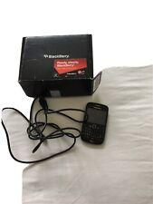 BlackBerry Curve 8520 - Black, with charging cable, original box and instruction