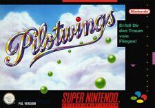 Nintendo SNES game Pilotwings boxed