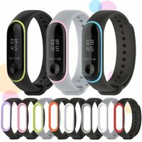 Silicone Wristband Bracelet Replacement Sport Watch Strap for Xiaomi Mi Band 3
