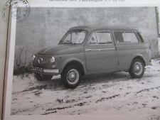STEYR  PUCH  700 - C  1959  TYPENSCHEIN !!