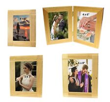 "Solid Wood Oak Wooden Picture Photo Frame 6x4 7x5 8x6"" Christmas Home Decor Gift"