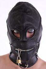 Masque avec le fermeture éclair dans Région de la bouche / Capuche Détachable