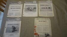 IH McCormick Sales Literature, Combines 101 151 181 80 91 years 1959  & 1960