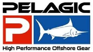 """Pelagic Fishing Offshore 6"""" Boat Sticker / Decal -  Color - Red White Blue NEW!"""