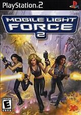 """NEW--Y & WHITE SEALS-MOBILE LIGHT FORCE 2-FOR PS2-RATED """"E""""-FREE SHIPPING"""