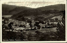 Neustadt Thüringen Südharz alte AK 1934 Panorama Dorfansicht mit Kirche gelaufen