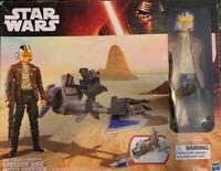 Star Wars The Force Awakens 12-inch Speeder Bike Poe Dameron Action Figure
