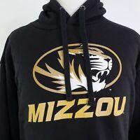 MIZZOU TIGERS UNIVERSITY OF MISSOURI BLACK PULLOVER SWEATSHIRT HOODIE 3XLT TALL