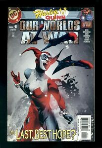 HARLEY QUINN: OUR WORLDS AT WAR #1 DC 2001 FN/VF