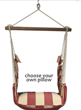 MAGNOLIA CASUAL HAMMOCK SWING SET - AMERICANA Choose Your Pillow