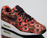 Nike Air Max 1 Premium SE Men's Lifestyle Shoes Black Flash Crimson 858876-003