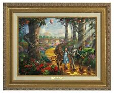 Thomas Kinkade - Wizard Of Oz -Canvas Classic (Gold Frame)