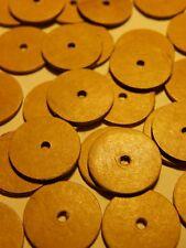 50 Gelenkscheiben / Pappscheiben 12 mm für Minibären / kleine Teddys