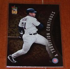 2001 Topps A Tradition Continues Insert TRC15 Sammy Sosa *A4