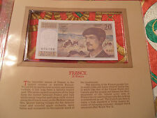 Most Treasured Banknotes France 20 Franc 1983 GEM UNC P 151a Serie O.011