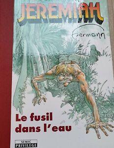 Jeremiah, le fusil dans l'eau, Portfolio dédicacé et signé par Hermann