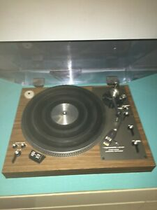 REALISTIC LAB-420 Precision Auto Direct-Drive Turntable w/Cartridge-Working-Read