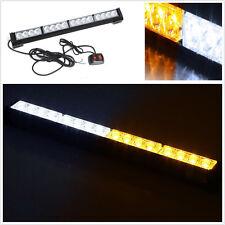 """18"""" 16 LED Emergency Roof/Front Bumper Strobe Light Bar For UTV Polaris RZR XP"""