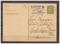 Deutsches Reich, Ganzsache P 199 MA-St Leipzig nach Großkayna 20.06.1933