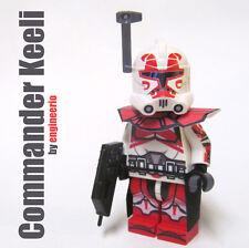 LEGO Custom Clone Trooper - Keeli - commander mini figure rex cody gree bly fox