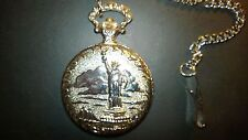 Commemorative Limited Edition.pocket watch Statue of Liberty 100 year