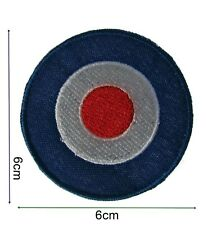 Mod Target Iron On Embroidered Patch Badge Patches Logo Fancy Badges #238