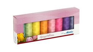 Mettler Silk Finish Cotton 8 Spools Spring Thread Kit SF8SPRING-KIT