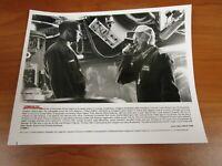 Vintage Glossy Press Photo Denzel Washington, Gene Hackman, Crimson Tide
