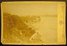 Photo c1900 Dinard embouchure de La Rance Bretagne Photographie ancienne 16cm
