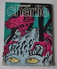 MENSUEL CHARLIE #137 French Comic Magazine 1980 Pre-Charlie Hebdo Peanuts