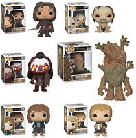 Funko POP! Movies ~ LORD OF THE RINGS 6-FIGURE SET (WAVE 2) ~ Aragorn, Treebeard
