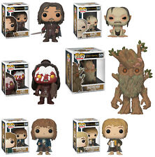 Funko POP! Movies ~ LORD OF THE RINGS 6-FIGURE SET (WAVE 2) ~ Aragorn, Treebeard