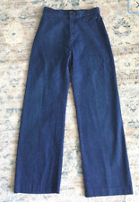 Vintage 70s Women's Levi's Orange Tab High Waisted Wide Leg Jeans Size 12