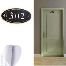 Office Home House Signs Plaques Door Numbers Customizable Name Plate door number