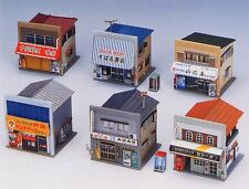 Greenmax No.2136 Store Set (6 stores) (1/150 N scale)