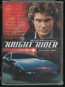 KNIGHT RIDER SEASON TWO [New 6-Disc DVD, 21 Episodes] David Hasselhoff