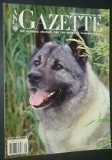 Akc Gazette Norwegian Elkhound Cover May 2005 Queen Victoria & Animal Treatment