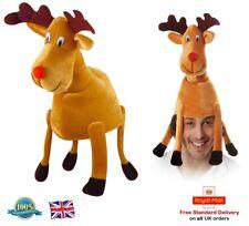 Cappello renna adulto Festa Di Natale Costume Cappello Articolo Novità Cervo