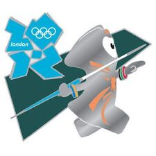 London 2012 Olympics Mascot Wenlock Javelin Sports Official Commemorative Pin