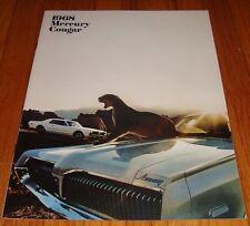 Original 1968 Mercury Cougar Sales Brochure XR-7 GT GT-E