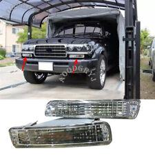 2p Front Bumper Fog Light Turn Signal Housing 1991-97 For Toyota Land Cruiser 80