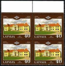 Latvia 2005 (17) Palaces of Latvia - Palace of Durbe (block of 4)