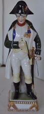 ANTIQUE Porcelain Germany Figurine Signed Dresden Napoleon Soldier